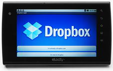 Dropbox Screenshot - click to enlarge