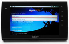 Amazon Kindle Screenshot - click to enlarge